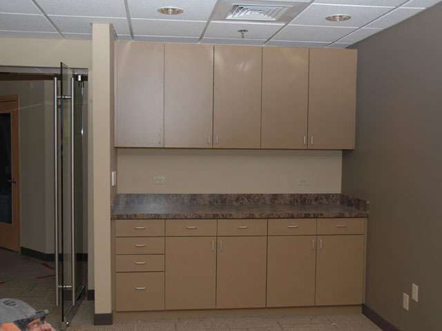 Lara Custom Cabinets - Commercial Office
